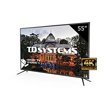 Televisores Led 55 Pulgadas Ultra HD 4K Smart TD Systems ...