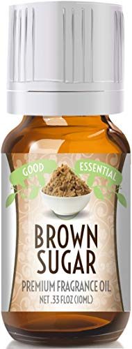 Brown Sugar Scented Oil by Good Essential (Premium Grade Fragrance Oil) - Perfect for Aromatherapy, Soaps, Candles, Slime, Lotions, and More!