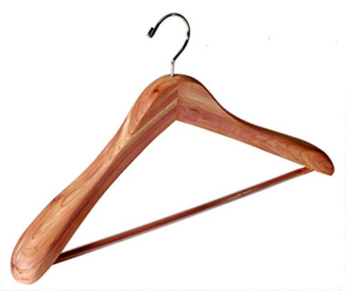 Requisite Goods Aromatic Cedar Suit Coat Hangers - 3pk