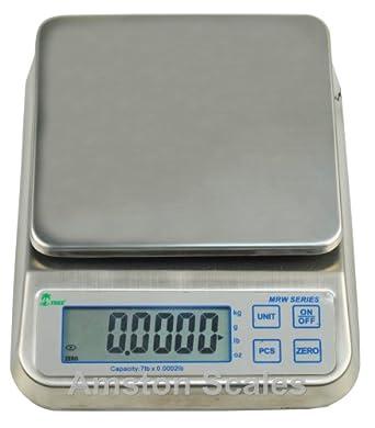 3,3 LB X 0,0001 LB/1,5 kg x 0
