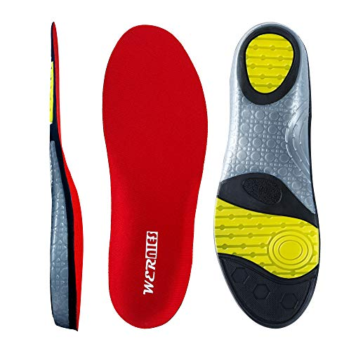WERNIES Running Shoe Insoles for Women Neutral Arch Support Insert Replacement Sports Shoe Inserts for Men Plantar Fasciitis Inserts Flat Feet Insoles for Mens Work Insoles for Men, Sneaker Insert ...