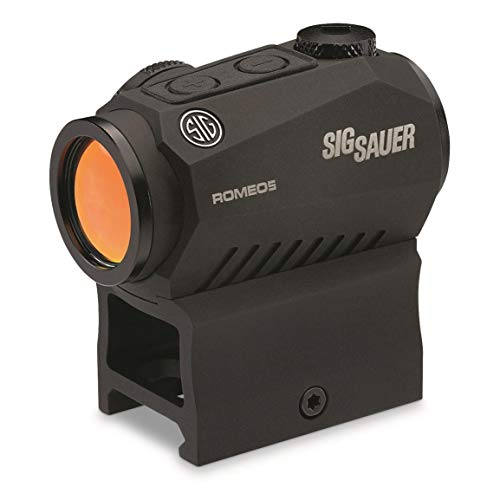 Sig Sauer SOR52001 Romeo5 1x20mm Compact 2 Moa Red Dot Sight, Black (Sig Sauer Romeo5 1x20mm 2 Moa Red Dot)