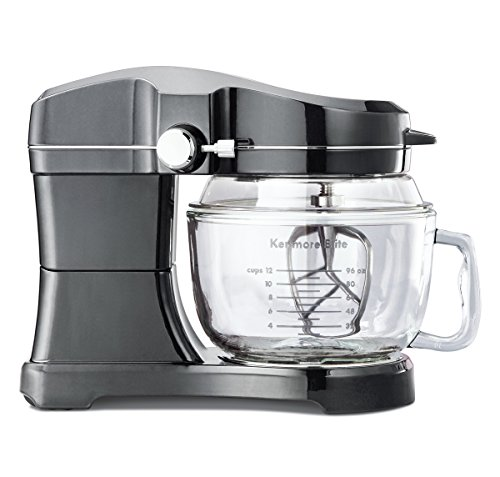 Kenmore Elite 49090 Ovation 5 Quart Stand Mixer in Metallic Gray