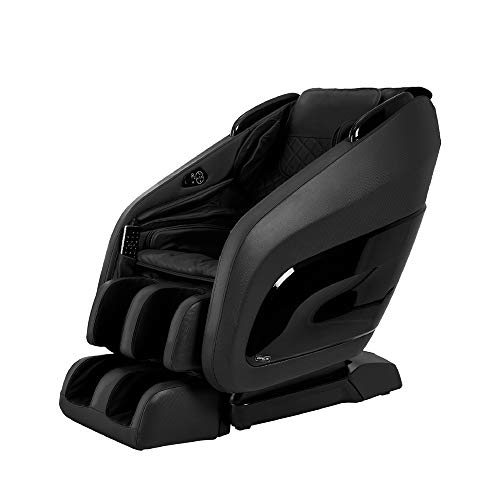 Titan Chair Apex AP- Zero Gravity Massage Chair, Foot Rollers, Space Saving, L-Track Design, and Lower Back Heat Therapy (Black)