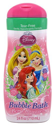 Disney Princess Bubble Bath 24 Ounce Berry Bouquet (709ml) (2 Pack)