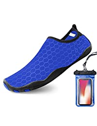 Bopika Water Shoes Barefoot Shoes Quick-Dry Aqua Shoes for Women Men