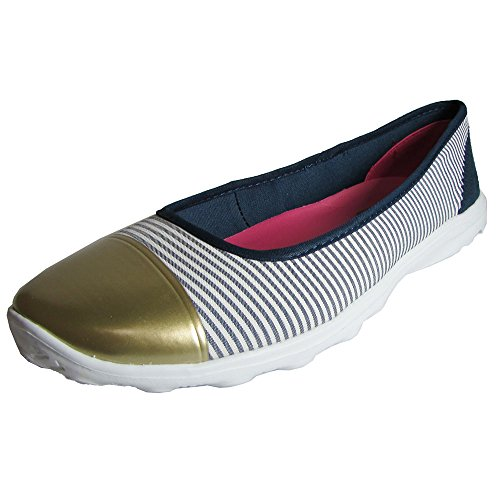 Skechers Womens Go Sleek First Class 13708 Slip On Shoe Navy / Bianco