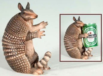 decorative-armadillo-beer-can-holder