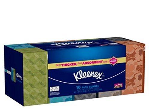 Kleenex 2-Ply White Tissues Bundle Pack, 6 - Fan Party Nfl Banner Kit