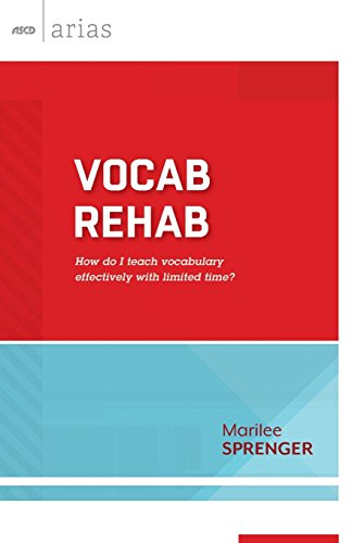 Vocab Rehab: How do I teach vocabulary effectively with limited time? (ASCD Arias)