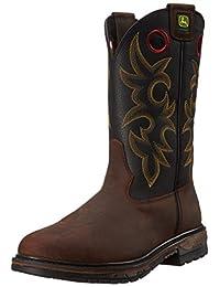 John Deere Men's 11-Inch Steel Toe EH PO Work Boot