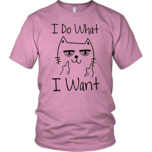 Attitude Cat - Funny Cat With Attitude I Do What I Want Cute Cat T-Shirt