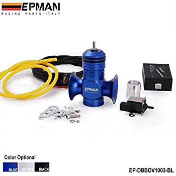 EPMAN Electrical Turbo Diesel Dump Blow Off Valve Kit For All Turbo Diesel Car (Blue)