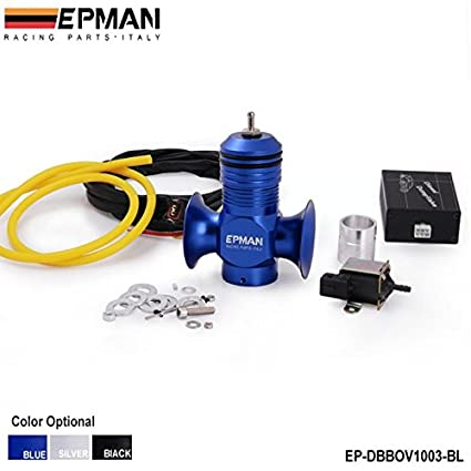 Amazon.com: EPMAN Electrical Turbo Diesel Dump Blow Off Valve Kit For All Turbo Diesel Car (Blue): Automotive