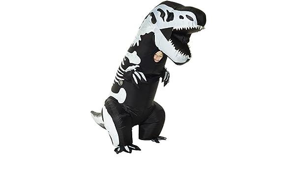 Morphsuits Disfraz Infantil de Esqueleto Hinchable Gigante (Talla ...