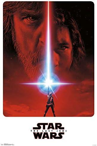Trends International Star Wars: The Last Jedi - Teaser Wall Poster, 22.375