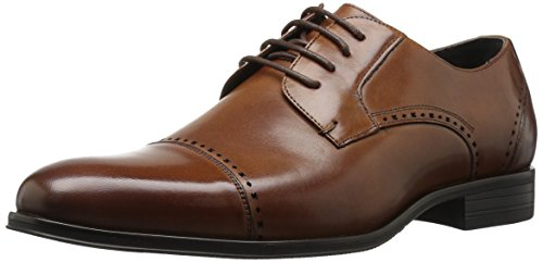 Stacy Adams Mens Stanwick Cap Toe Oxford Cognac