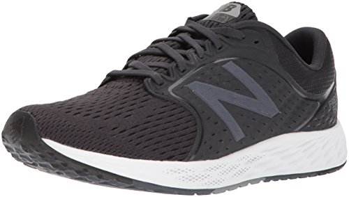 New Balance Men's Zante v4 Fresh Foam Running Shoe, Black, 15 D US