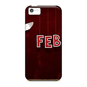 Case Cover February Month Love/ Fashionable Case For Iphone 5c