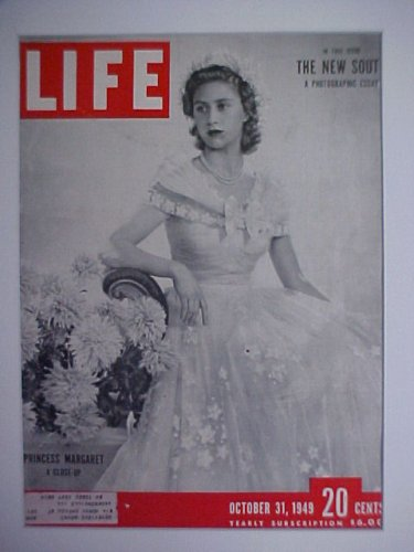 Princess Margaret October 31, 1949 Life Magazine Professionally Matted Cover