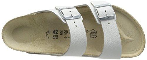 Birkenstock ARIZONA - Zuecos planos Unisex adulto Blanco