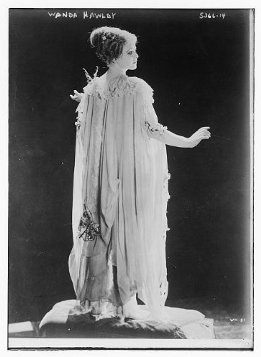 Silent Film Actress Costume (Photo: Wanda Hawley,silent film actress,dresses,costumes,clothing,women,cushion,beads)