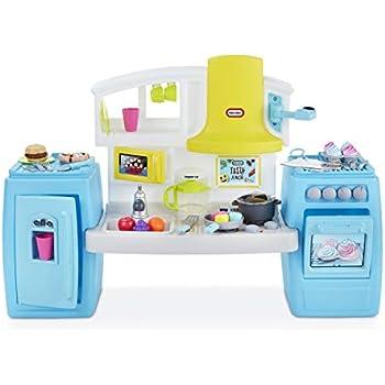 Amazon Com Little Tikes Cook N Grow Kitchen Toys Amp Games