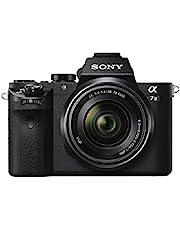Sony Alpha 7M2 E-Mount Vollformat Digitalkamera ILCE-7M2 (24,3 Megapixel, 7,6cm (3 Zoll) LC-Display, Full HD Video (XAVC S, AVCHD), Vollformat Exmor CMOS Sensor, inkl. SEL-2870 Objektiv) schwarz
