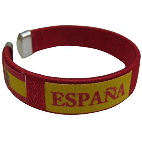 Espana Spain Flag C Bracelets Wristbands - 1 - Logo Team Bracelet