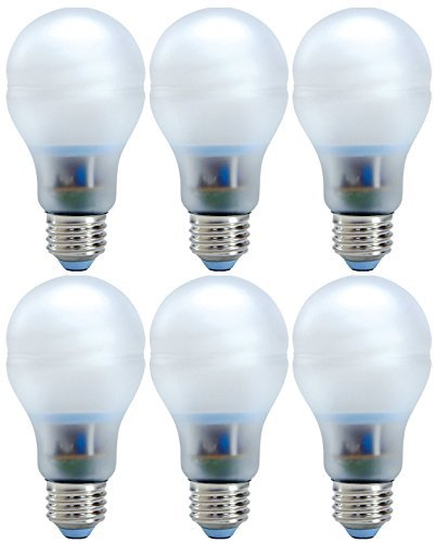 Set of 6 GE Lighting 63511 Reveal Bright from the Start CFL