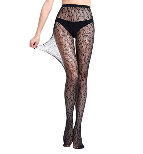 - Nets Pantyhose Women's Fishnet Lace Panty Hose Jacquard Weave Stocking Lingerie