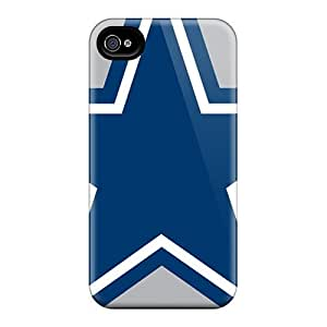 Iphone 4/4s Case, Premium Protective Case With Awesome Look - Dallas Cowboys