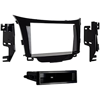 Car Stereo Mount 95-7362B Double-Din Radio Install Dash Kit /& Wires for Elantra