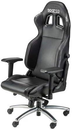 Sparco Silla de Despacho, Negro