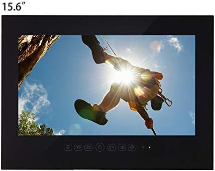 Haocrown Smart TV LED para baño IP66 Impermeable Sistema Android Televisor con Pantalla táctil con Wi-Fi Incorporado (15,6 Pulgadas, Negro): Amazon.es: Electrónica