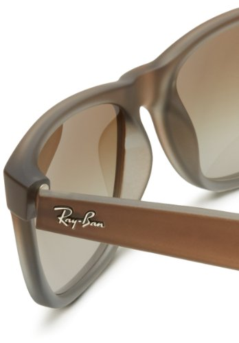 Lunettes soleil Ban mm Grey Ray Homme Brownn RB4165 Rubber Marron de Green 51 wqBOgtOc