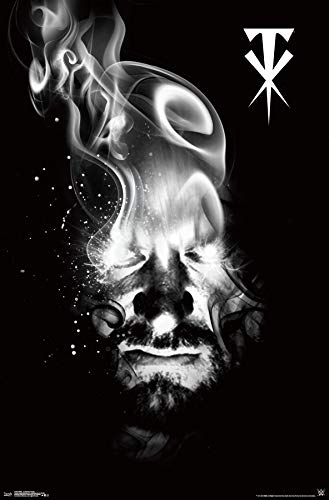 (Trends International WWE-Undertaker Smoke Wall Poster, 22.375