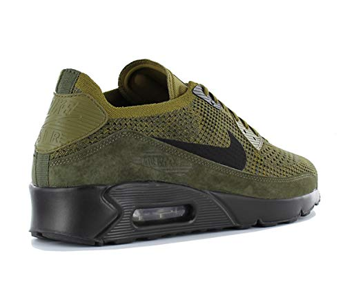 's Running Olive 302 Men 0 2 Flyknit Ultra Flak Shoes Max car Competition NIKE Air Multicolour Black 90 H5nwTv