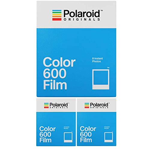 Polaroid Originals Instant Classic Color Film for 600 Cameras (3-Pack() (600 Film Pack)