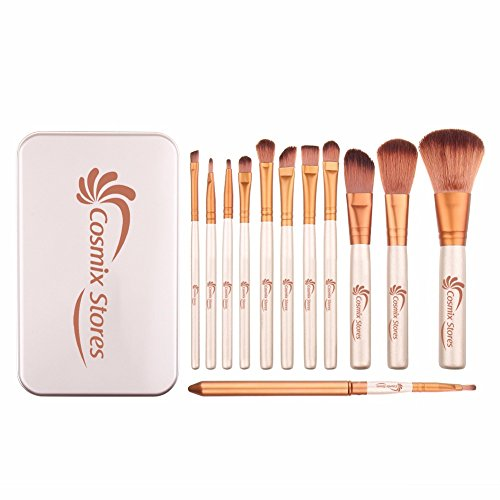 Cosmix Stores Makeup Brush Set 12 Pieces
