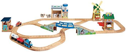 Fisher-Price Thomas & Friends Wooden Railway Thomas' Birthday Surprise Set ()