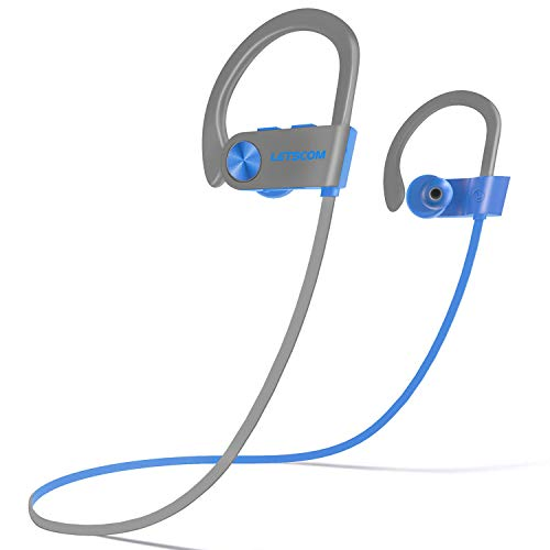 LETSCOM Bluetooth Headphones V5.0