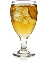 Libbey 3716S12 Goblet Party 12-Piece Glass Set, 16.25 oz, Clear