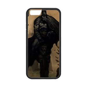 batman drawing iPhone 6 Plus 5.5 Inch Cell Phone Case Black 53Go-315643