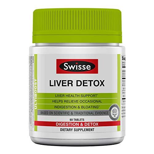 (Swisse Ultiboost Liver Detox Tablets, 60 Count)
