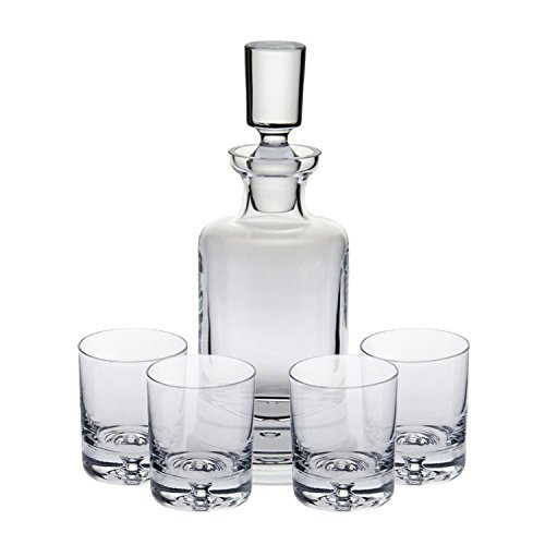 Ravenscroft Crystal Kensington Decanter Set. Handmade European Lead-free Crystal by Ravenscroft Crystal