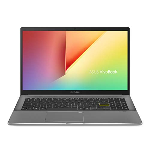 """ASUS VivoBook S15 S533 Thin and Light Laptop, 15.6"""" FHD, Intel Core i5-10210U CPU, 8GB DDR4 RAM, 512GB PCIe SSD, 15-15.99 inches S533FA-DS51"""