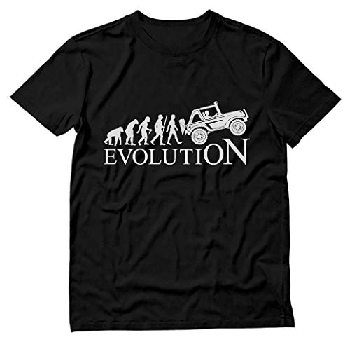 (Evolution 4x4 - Gift for Off Road Lovers - Cool T-Shirt X-Large Black)