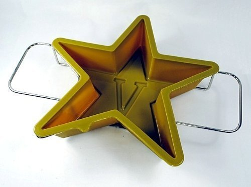 Vanderbilt VU Commodores Vandy 5-Point Star Cake Pan & Dessert Mold