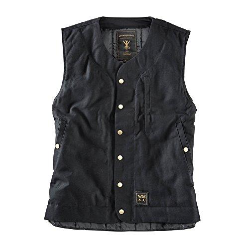 Wrenchmonkees Weste #3 Waistcoat Black